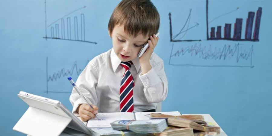 Vaikų finansinis švietimas