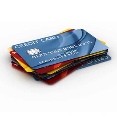 atsiskaitymas kreditine kortele)
