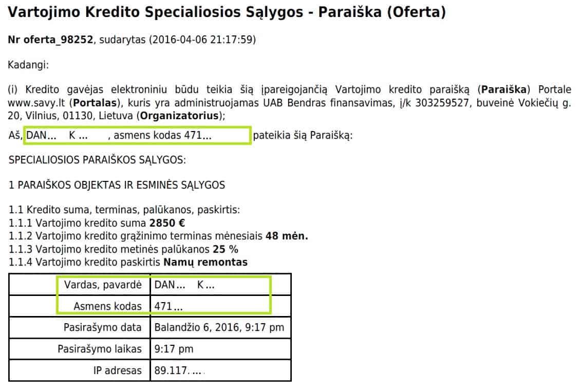 P2P skolinimas: Paysera.lt konkretaus asmens kontaktai