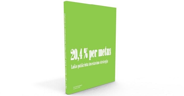 20,4 % per metus - laiko patikrinta investavimo strategija