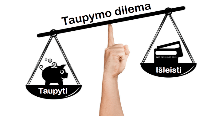 Taupymo dilema