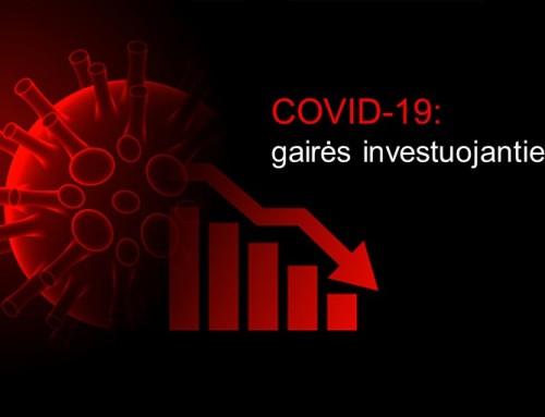 COVID-19: gairės investuojantiems į NT
